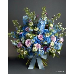 Bouquet Luxury -Blue Sky