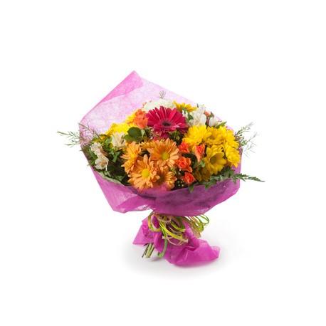 Bouquet di margherite dai toni del giallo