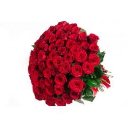 Gran Bouque di 101 rose rosse