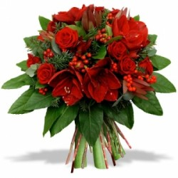 Bouquet red Christmas