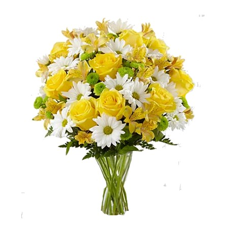 Bouquet, Mix White and Yellow