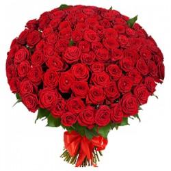 Букет Троянди Червоні і Білі