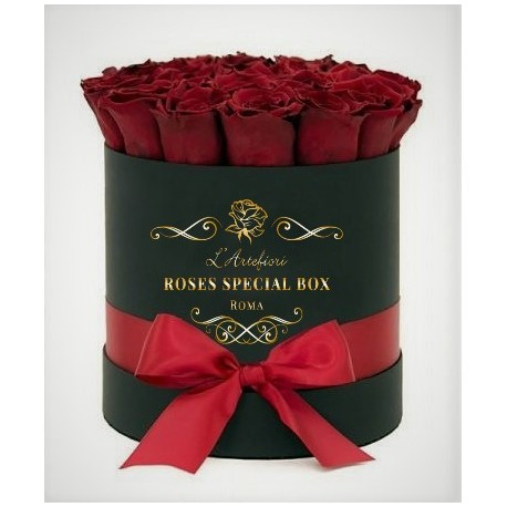 15 red Roses in a box, in the unforgettable excitement!