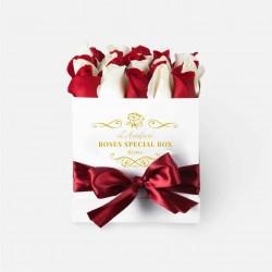 Box special roses -medio