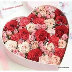 Cuore rosa