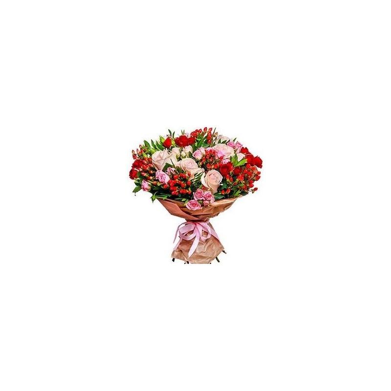 Bouquet in carta pane