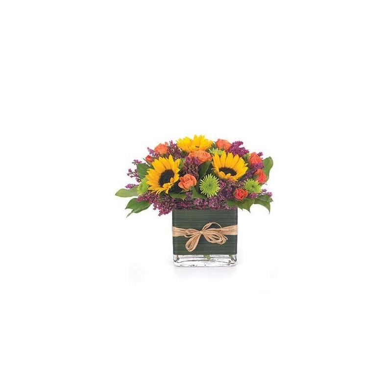 Bouquet in vetro