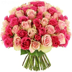 Bouquet cento piccole rose per te.