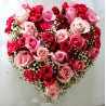 Cuore mix rose