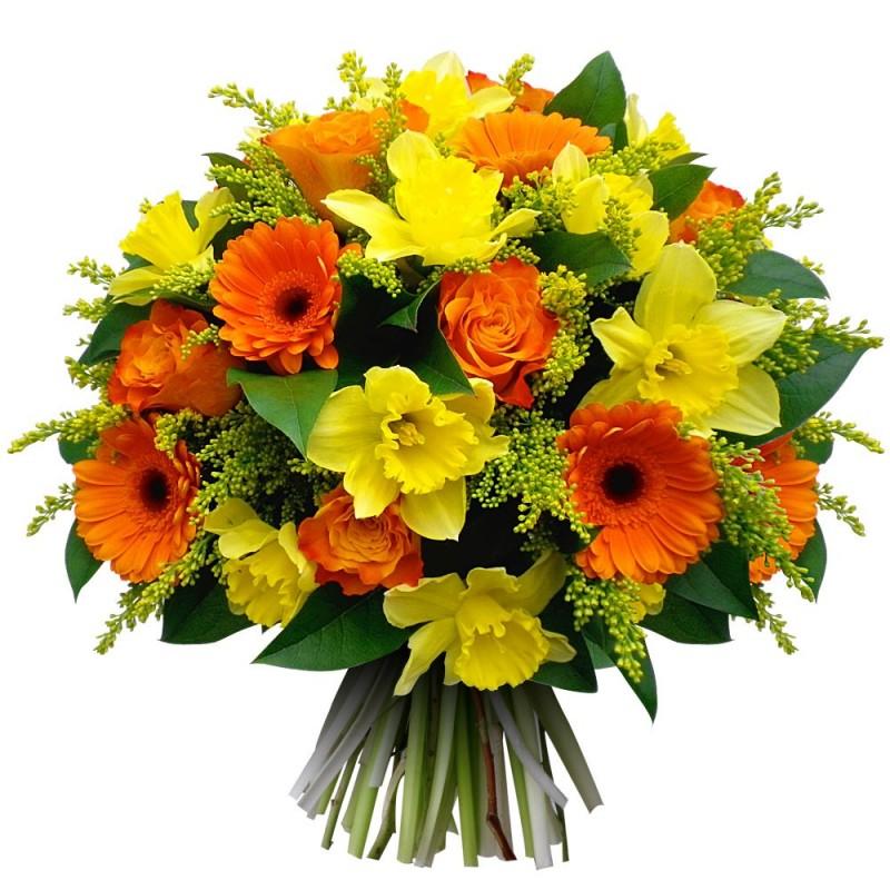 Popolare bouquet di fiori tulipani - L'ARTEFIORI - FIORI ON LINE ROMA IT42