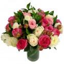 Bouquet Rose mix e Peonie