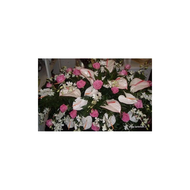 Cuscino di fiori per lutto for Arredo funebre