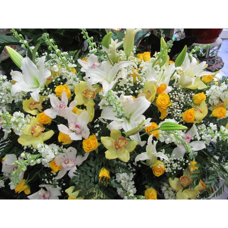 Top Cuscino di fiori per funebre PB13