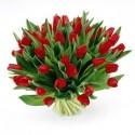 Gran Bouquet di tulipani rossi