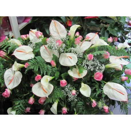 Flowers for mourning for Sempreverde con fiori bianchi e profumati