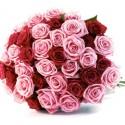 Bouquet 40 ... rosse e rosa
