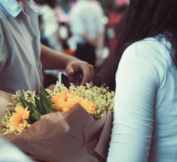 Si possono regalare fiori ad un uomo? Si, ma quelli giusti!